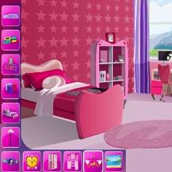 Barbie Decorate Bedroom