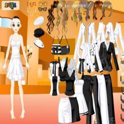 Black White Dressup2