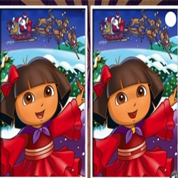 Christmas Dora The Explorer