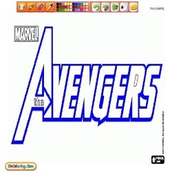 Coloring Avengers 1