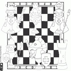 Coloring Chess 1