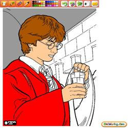 Coloring Harry Potter 1