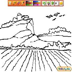 Coloring Natural Landscapes 2