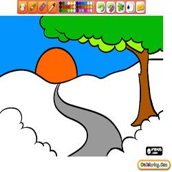 Coloring Natural Landscapes 3