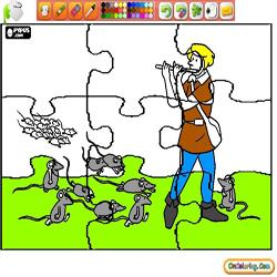 Coloring Short Stories for kids Puzzles 1