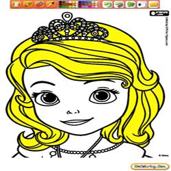 Coloring Sofia The First 1