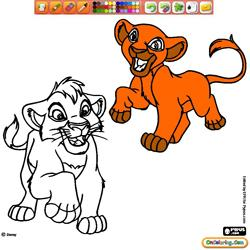 Coloring The Lion King 2