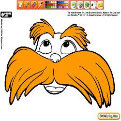 Coloring The Lorax 2