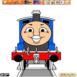 Coloring Thomas and friends 1