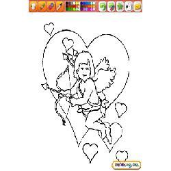Coloring Valentine Day
