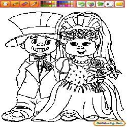 Coloring Weddings 1