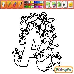 Decorated Alphabet 1