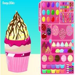 Glossy cup Cake