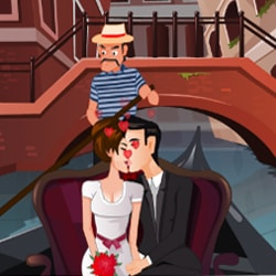 Kissing In A Gondola