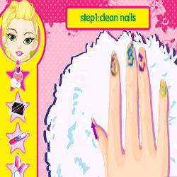 Leopard Grain Nails Fashion