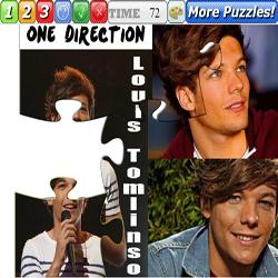 Louis Tomlinson One Direction puzzle