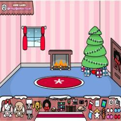 Make a Scene Christmas room