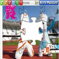 Mascots of the Olympic Games 2012 Paralympics