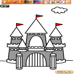 Oncoloring Castles 3