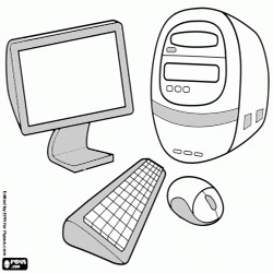 Oncoloring Computer 1