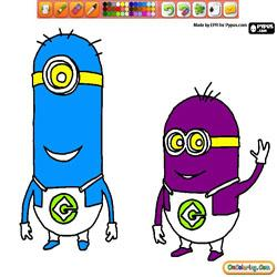 Oncoloring Despicable Me 1 Minions