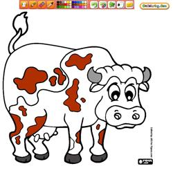 Oncoloring Farm animals 1