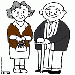 Oncoloring Grandparents 1