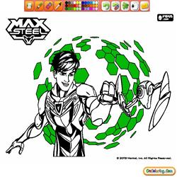 Oncoloring Max Steel 1
