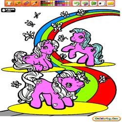 Oncoloring My Little Pony 1