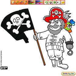 Oncoloring Pirate Adventure 1