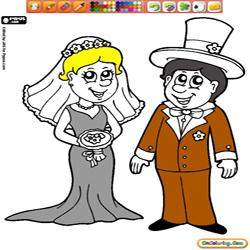 Oncoloring Wedding day 1