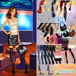 Party star dress up