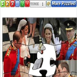 Puzzle British Royal Prince William Kate
