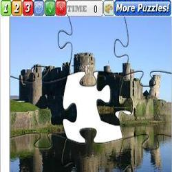 Puzzle Caerphilly Castle