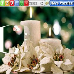 Puzzle Christmas Candles 3