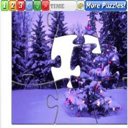 Puzzle Christmas Trees 1