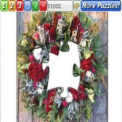 Puzzle Christmas wreaths 2