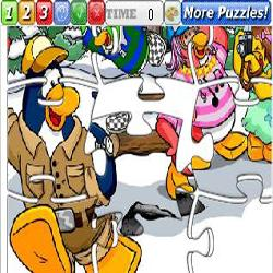 Puzzle Club Penguin 2