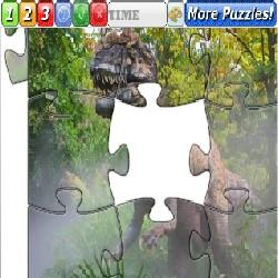 Puzzle Dinosaurs 1