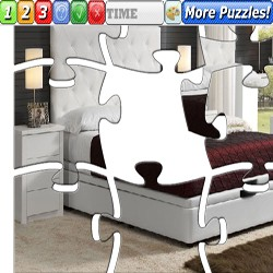 Puzzle Double bed