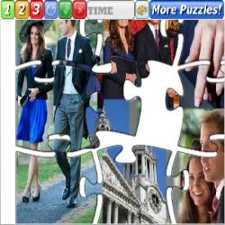 Puzzle Engagement Prince William to Kate
