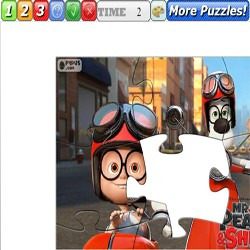 Puzzle Mr Peabody and Sherman