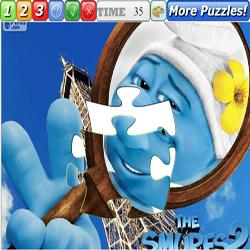 Puzzle The Smurfs 2