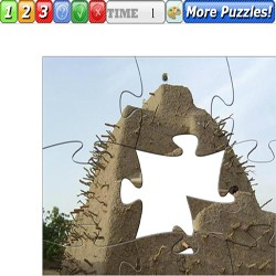 Puzzle The tomb of Askia in Gao Mali