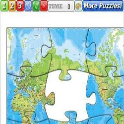 Puzzle World map