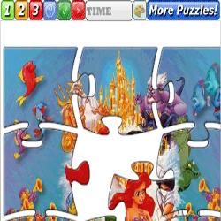 Puzzle little mermaid 2