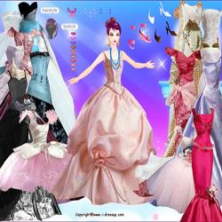 barbie in gowns