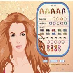 britney spears dressup makeover
