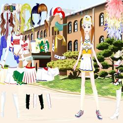 cheerleader dressup3