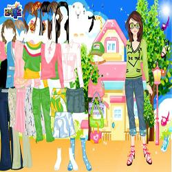 color village dressup